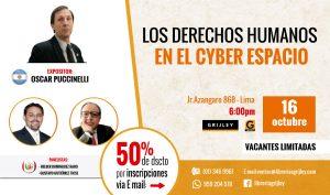 Conferencia Gratuita «Los derechos humanos en el Ciberespacio»