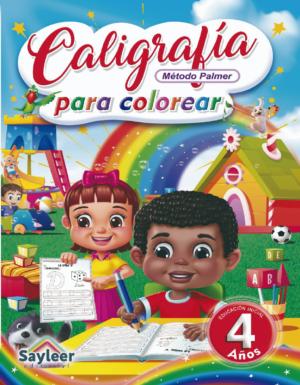 Colección Caligrafía para Colorear N° 4