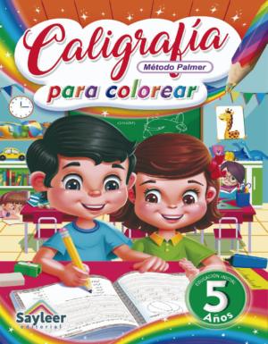 Colección Caligrafía para Colorear N° 5