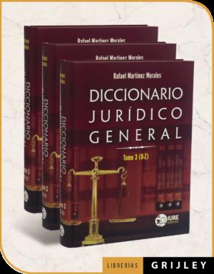 Diccionario Jurídico General III Tomos
