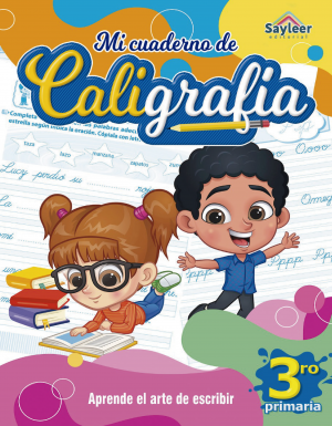 Colección: Cuadernos de Caligrafía N°3