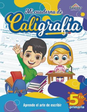 Colección: Cuadernos de Caligrafía N°5